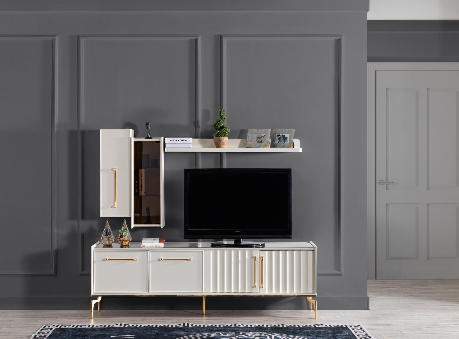 Titanium Gold  Tv Ünitesi